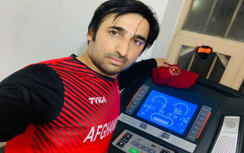 All national Players perform workout routines regularly to stay fit during lockdown: Asghar Afghan