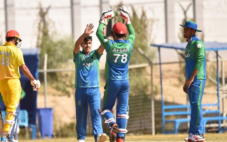 Captain's knock from Ahmadi secures comprehensive win for Amo